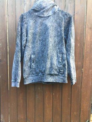Iriedaily Capuchon sweater grijs-zwart