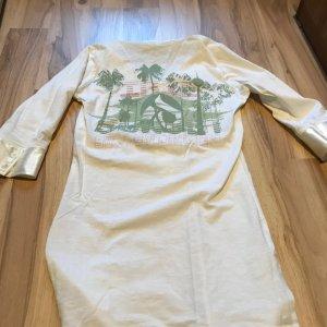 Iriedaily Oberteil in weiß Größe XS S 34 36 neu mit Rückenprint Shirt T-Shirt