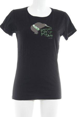 Iriedaily T-Shirt schwarz Casual-Look