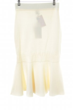 Iris & Ink Knitted Skirt natural white business style