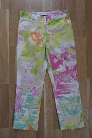 Iris von Arnim 3/4 Length Trousers multicolored cotton