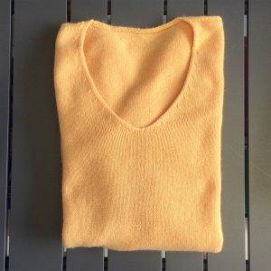 IRIS VON ARNIM Cashmere Pullover orange Gr. 40