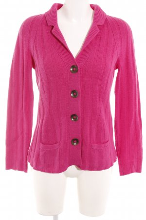 Iris von Arnim Strickjacke pink Casual-Look