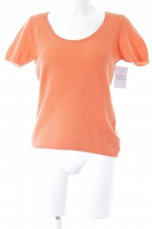 Iris von Arnim Strickshirt dunkelorange Casual-Look