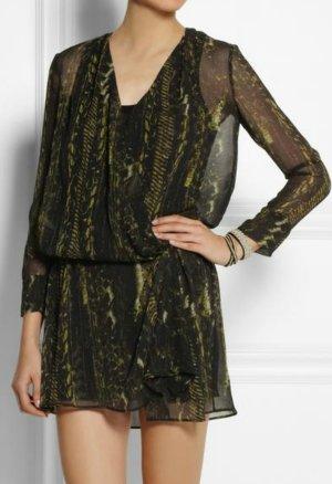 Iro Akley georgette Minikleid Tunika Bluse