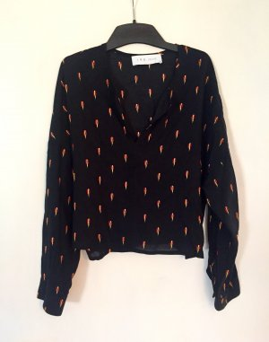 Iro Oversized blouse veelkleurig Viscose