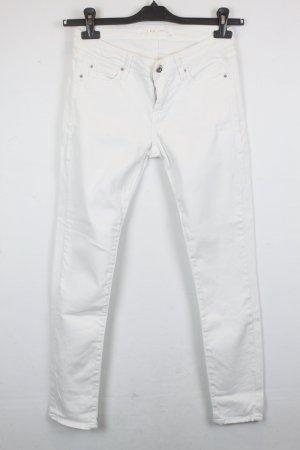IRO Skinny Jeans Gr. 27 weiß Denim (18/12/K)