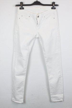 IRO Skinny Jeans Gr. 27 white denim