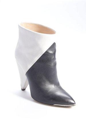 Iro Stiefeletten grau-schwarz  - Größe 39