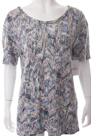 Iro T-Shirt abstrakter Druck