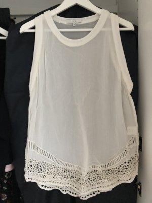 IRO Weißes Top/Bluse Gr. 36 | sommerlich