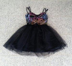 Iron Fist Carl Party Dress Zombie Skaterkleid Mesh Tüll Chiffon