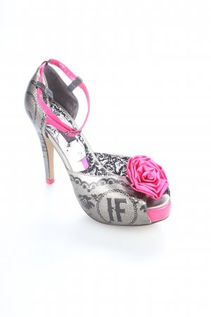 Iron fist High Heels mehrfarbig Punk-Look