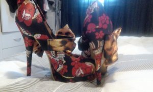 Iron Fist High Heels Sugar Skulls 37