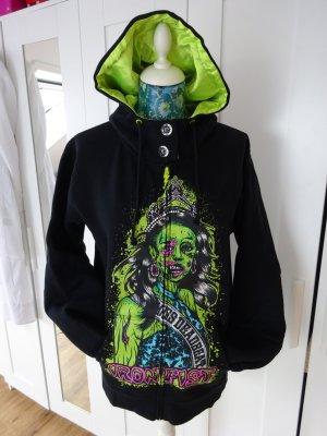 Iron Fist Hoodie Ms Deadbeat Button Girl Gr. L NEU