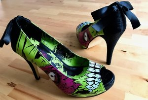 Iron Fist Monster Peep toes