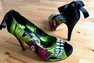 Iron Fist Monster Peep toes