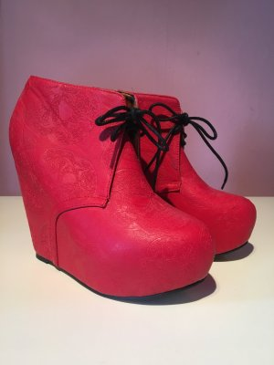 Iron fist Low boot rouge