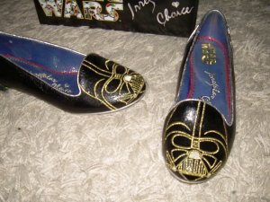 Irregular choice Patent Leather Ballerinas black