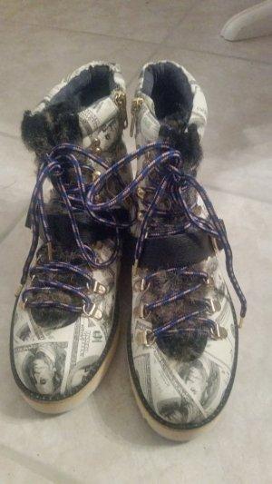 Irregular choice Aanrijg laarzen veelkleurig