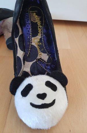 Irregular Choice Panda Manga Pumps Fell NEU!