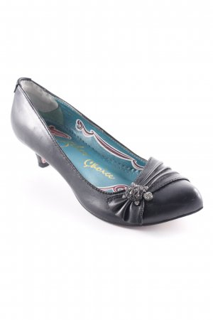 Irregular choice Spangen-Pumps schwarz extravaganter Stil
