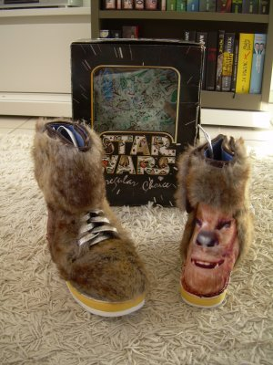 Irregular Choice Star Wars Boots Chewbacca Gr. 40 Kunstfell Stiefel