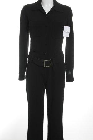 Isaac Mizrahi Jumpsuit schwarz Elegant