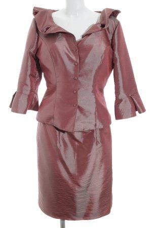 Isabel de Mestre Traje para mujer púrpura-color oro elegante