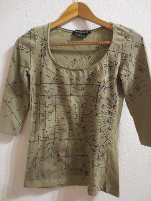 Isabel de Pedro, 3/4 arm, Shirt, Gr. 34/36, Khaki, NEU