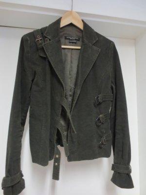 Isabel de Pedro, khaki, Gr. 36, Bikerjacke, nur 2x getragen
