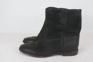 Isabel Marant Low boot noir cuir