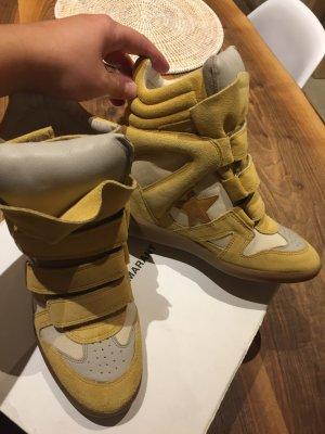Isabel Marant Sneaker alta multicolore Pelle