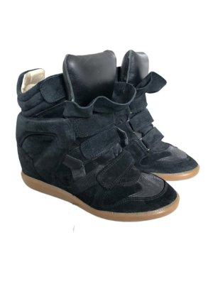 "Isabel Marant ""Beckett"" Sneaker Wedges (40) in schwarz"