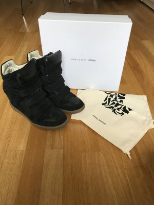 Isabel Marant Bekett Sneaker Gr 40 schwarz Keilabsatz