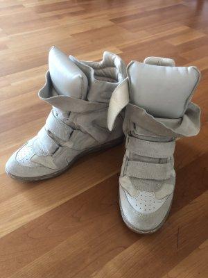 Isabel Marant Sneaker con zeppa beige-beige chiaro