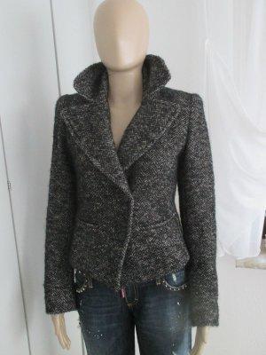 Isabel Marant Blazer Alpaka/Mohair Wolle Jacket Fischgrät Gr.2