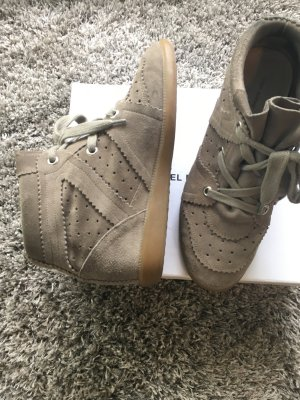 Isabel Marant Bobby Sneaker Taupe