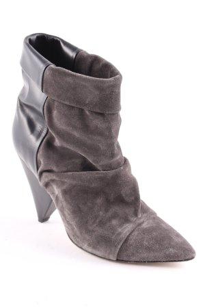 Isabel Marant Booties schwarz-grau klassischer Stil