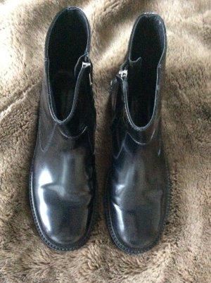 ❤️Isabel Marant Boots Conner 40 490€ schwarz glänzend ❤️