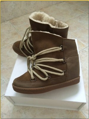 Isabel Marant Bottes de neige beige