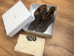 Isabel Marant Crisi Boots grau Größe 40 Wildleder Leder Luxus Kult Vintage