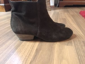 Isabel Marant Ankle Boots dark brown suede