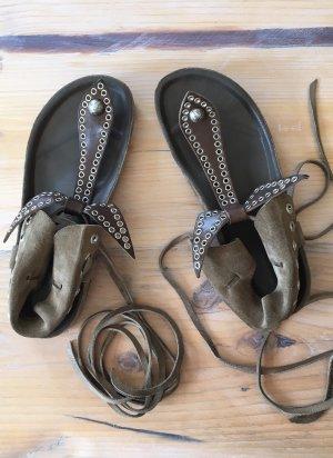 Isabel Marant Edris Bow Tie Sandalen