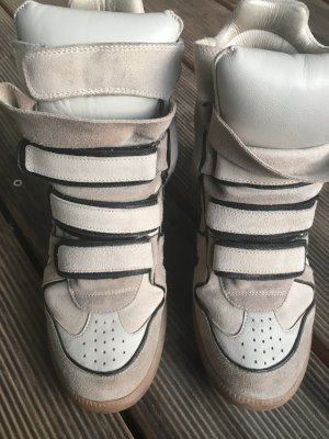 Isabel Marant Etoile Beckett High Top Sneakers