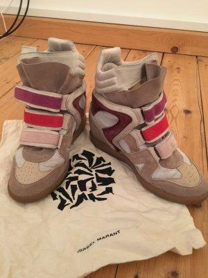 Isabel Marant Étoile Bekett Sneaker Suede Beige, 38