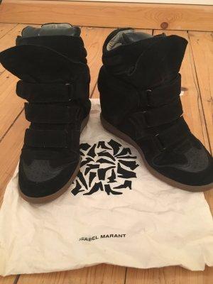 Isabel Marant Sneaker alta nero