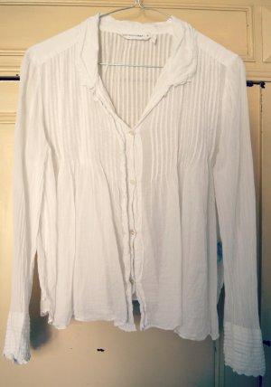 Isabel Marant Etoile Bluse weiß Baumwolle