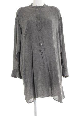 Isabel Marant Étoile Abito blusa grigio chiaro-bianco puntinato stile casual