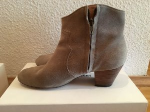 Isabel Marant Etoile Dicker Suede Ankle Boots